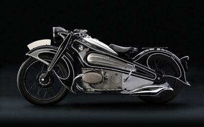 BMW motorfiets vroeg ontwerp, costumizing motorbike